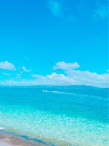 穏やかな海になって~!!🏖